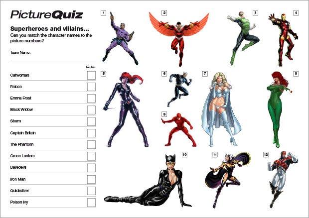 Quiz-012-Superheroes-S