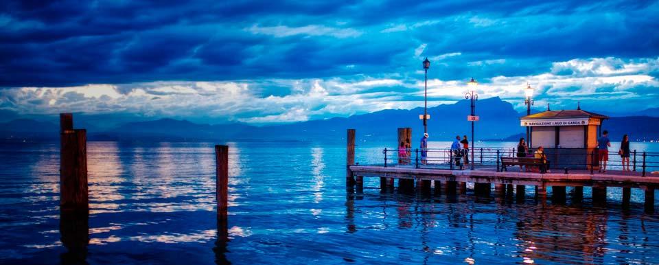 Lake Garda slide