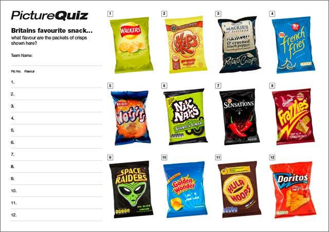 Quiz 061 Crisps