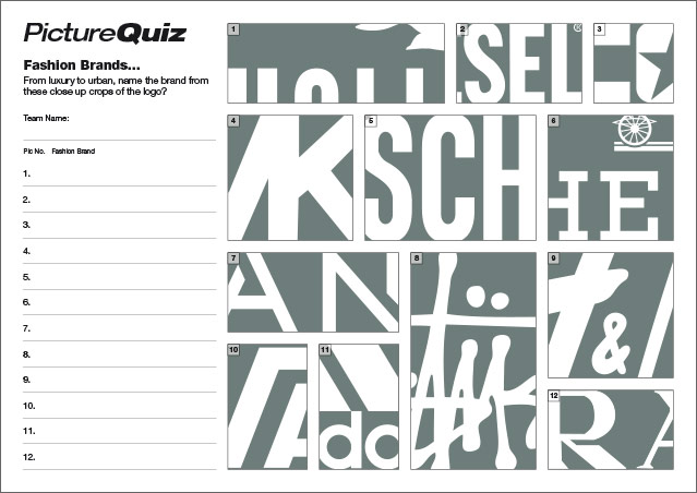Quiz 062 Fashion Brands