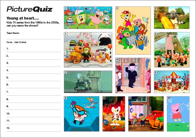 Quiz 065 is Kids TV Shows