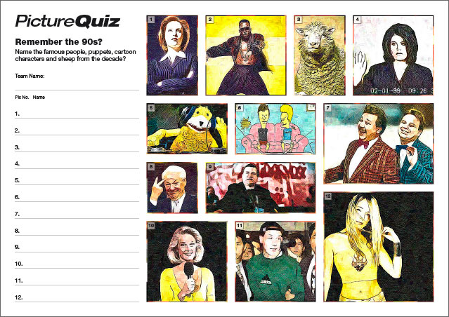 Q069s Picture Round is Remember the 90s