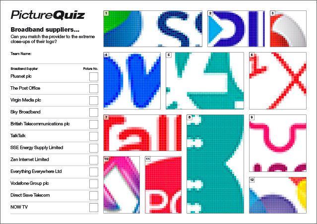 Quiz 070 Broadband Suppliers