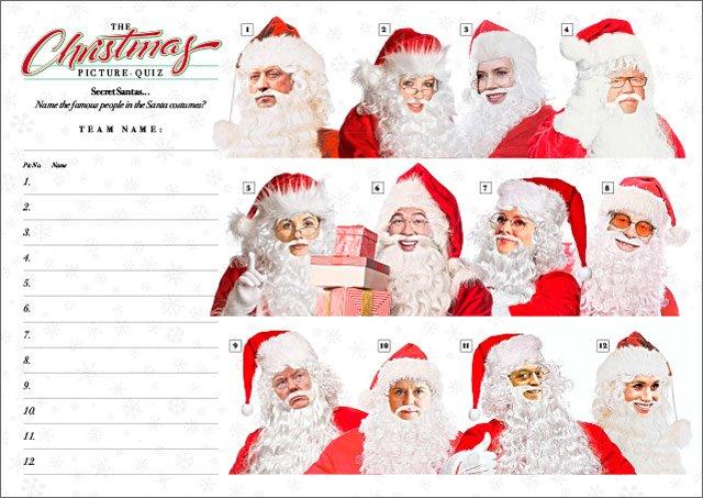 Xmas Quiz 02 Secret Santas III
