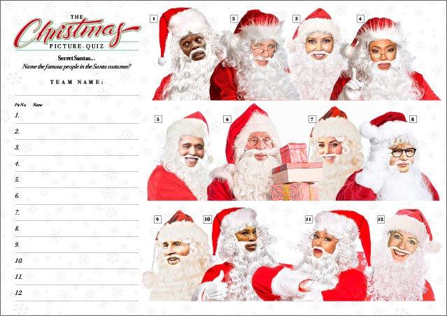 Xmas Quiz 02 Secret Santas IV