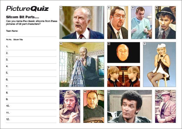 Quiz 110s Sitcom Bit Parts Picture Quiz