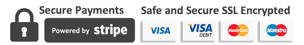Pay securely with Stripe