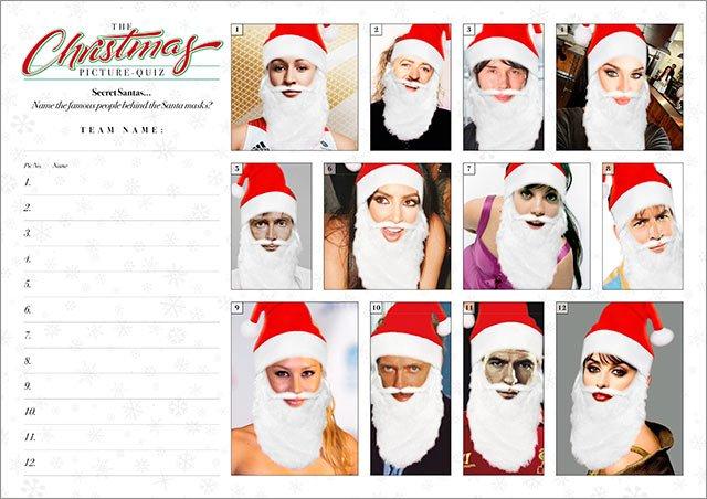 Xmas Quiz 02 Secret Santas