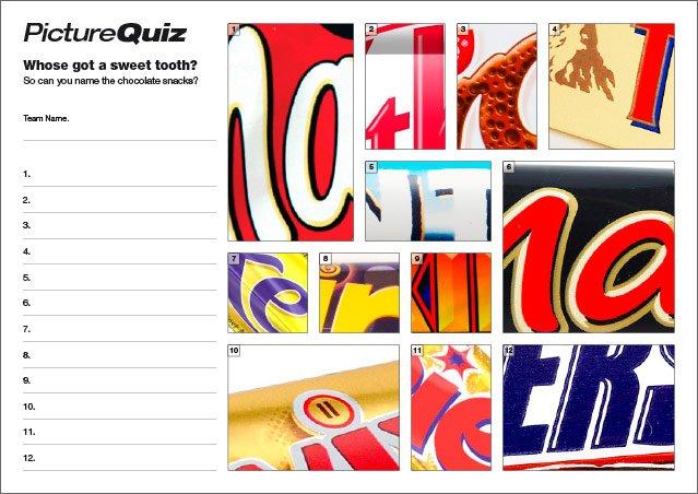 Quiz 38 Chocolate Snacks