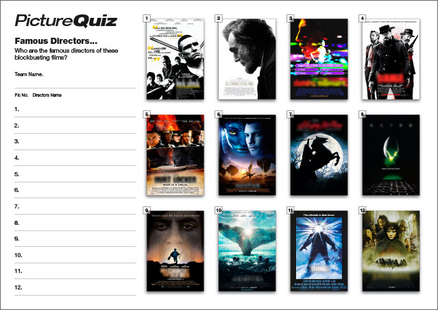 Quiz 39 Famous Directors