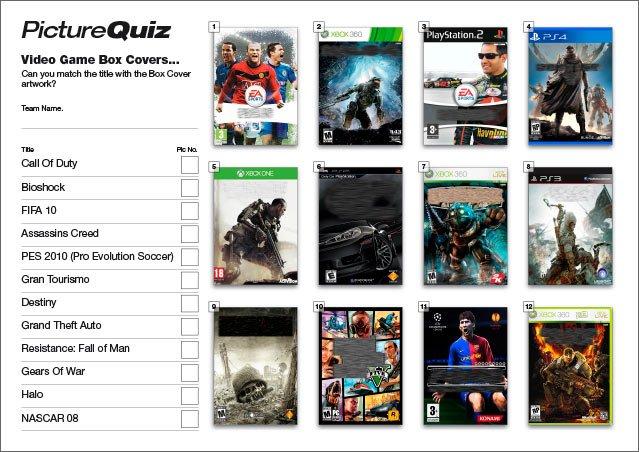 Quiz 050 Video Games