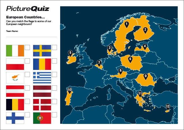Quiz 053 Euro Countries