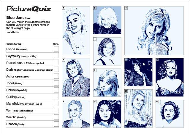 Quiz 056 Blue Janes