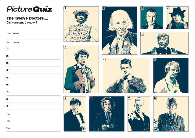 Quiz 058 Dr Who?