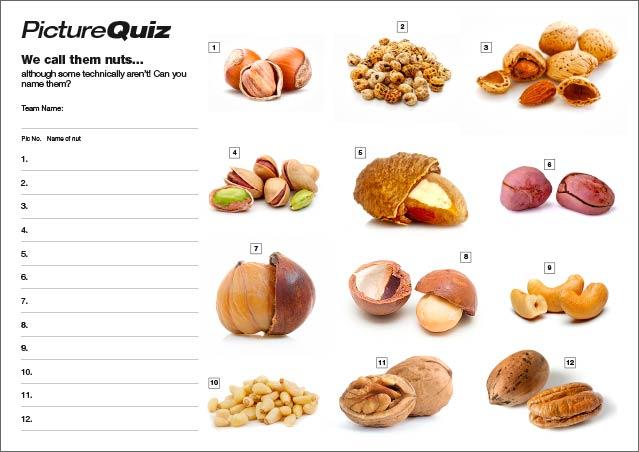Quiz 060 Nuts