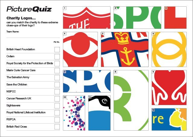 Quiz 106s Charity Logos Picture Quiz