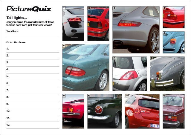 Q117s Tail Lights Picture Round