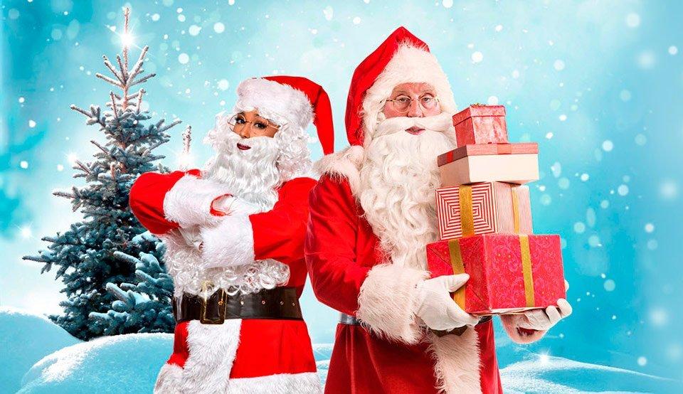 Can you recognise the Secret Santas?
