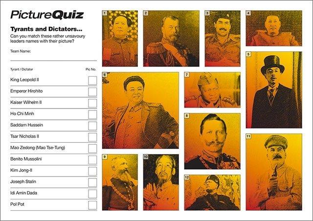 Q140s Directors and Dictators Picture Round
